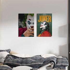 conjunto quadro coringa joker