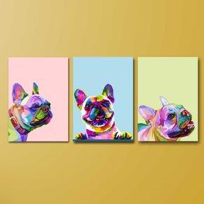 03 quadros df dog pixel
