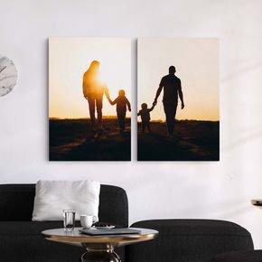 canvas composto familia