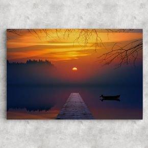 ponte por do sol