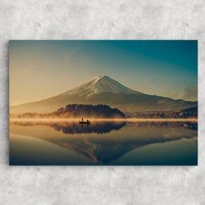reflexo montanha