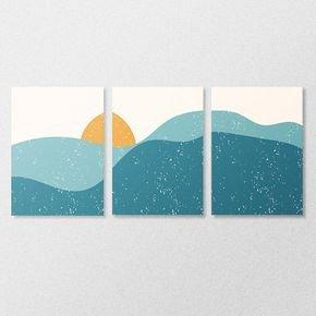 03 mdf abstrato sun and sea