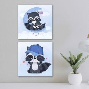quadros panda bebe
