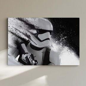 quadro decorativo stars wars