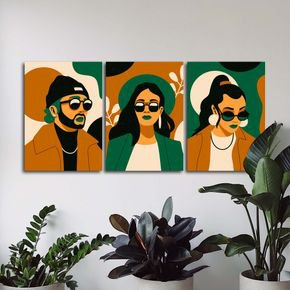 trio urban persons